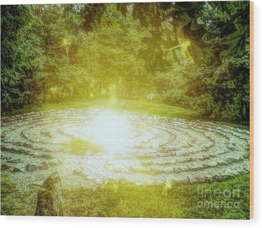 Labyrinth Myth And Mystical Wood Print
