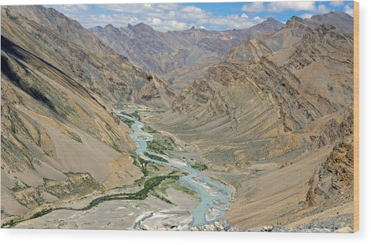 Ladakh Wood Print by Kees Colijn