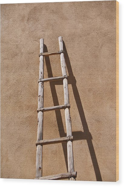 Ladder Wood Print