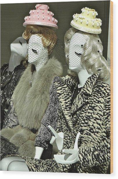 Ladies A La Mode Wood Print