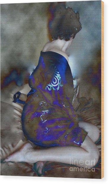 Lady Of Japan Wood Print