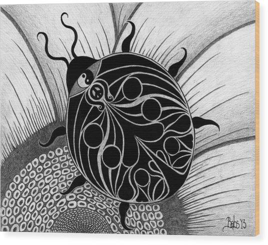 Lady Spirit  Wood Print