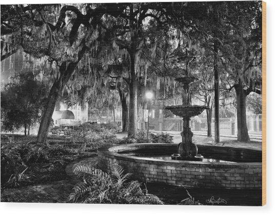 Lafayette Square Wood Print