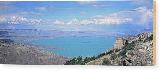 Lago  San Martin, Patagonia, Argentina Wood Print
