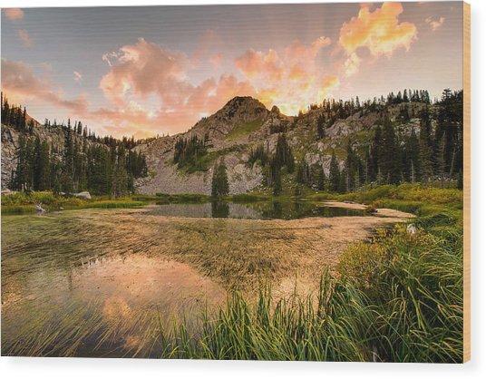 Lake Catherine Wood Print