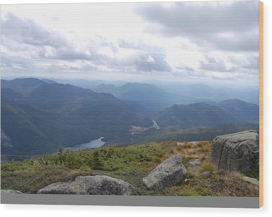 Lake Colden And Flowed Lands Wood Print