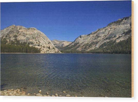 Lake Ellery Yosemite Wood Print