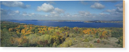 Majestic - Lake Geneva Wisconsin Wood Print