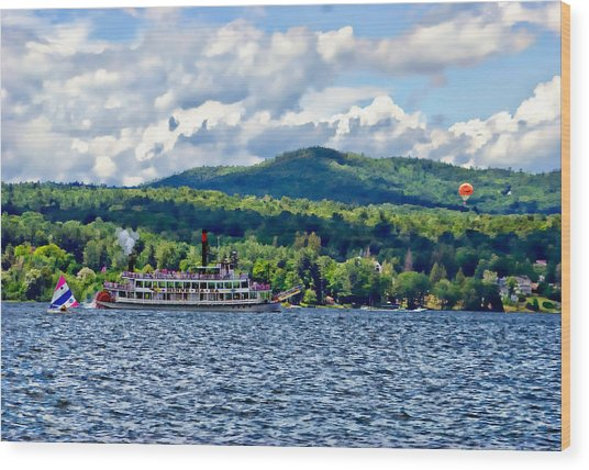 Lake George Ny Wood Print
