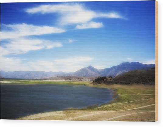 Lake Isabella Wood Print