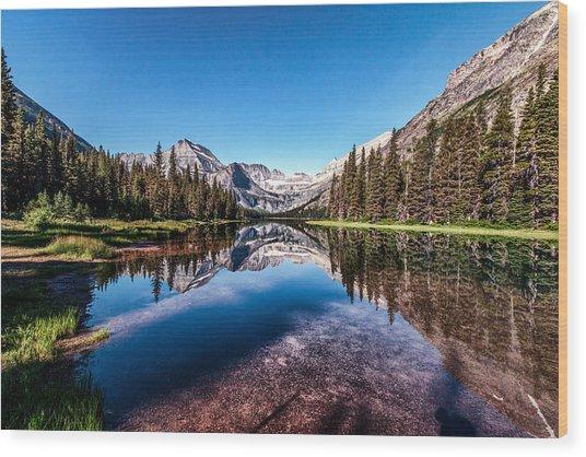 Lake Josephine Wood Print