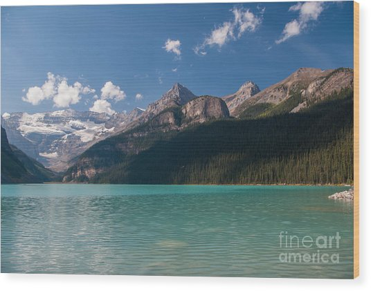 Lake Louise 2.0637 Wood Print by Stephen Parker
