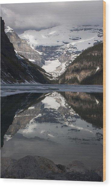 Lake Louise Alberta Canada Wood Print