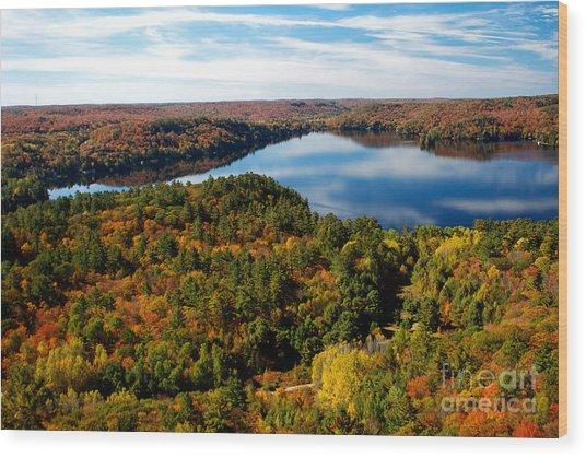 Lake Of Bays Wood Print