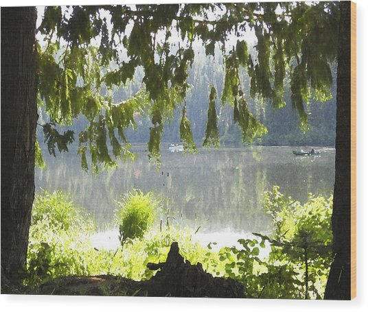Lake Of Dreams Wood Print