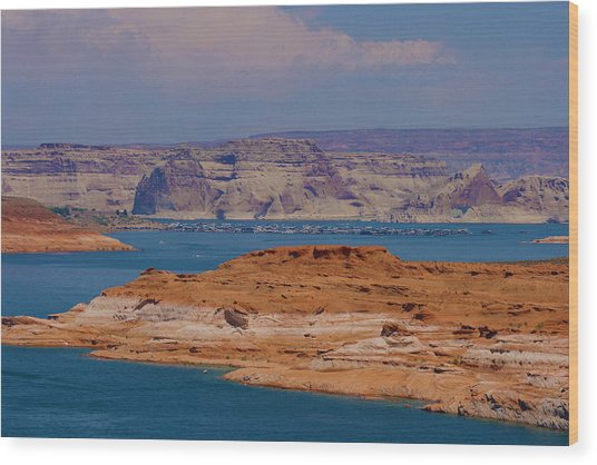 Lake Powell Wood Print