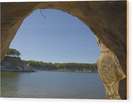 Lake Texoma Eisenhower State Park  Texas Wood Print