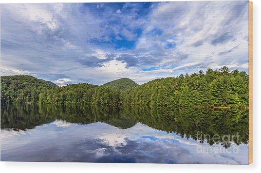 Unicoi Lake Wood Print