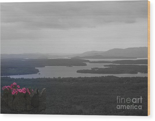 Lake Winnipesaukee      Sold Wood Print