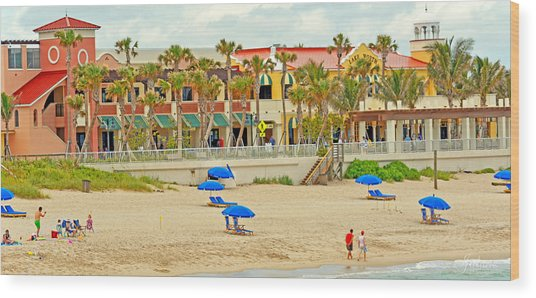 Lake Worth Casino Wood Print