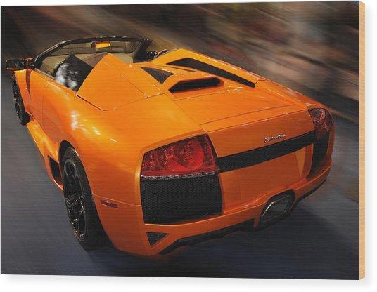 Lamborghini Murcielago 3 Wood Print