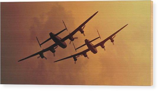 Lancasters Wood Print