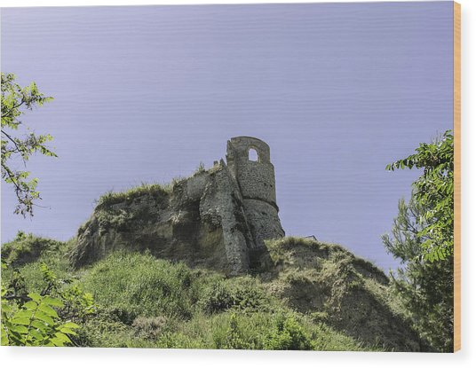 Italian Landscapes - Land Of Immortal Wood Print
