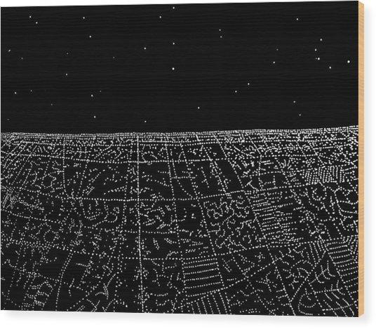Landing IIi Wood Print by Jason Messinger