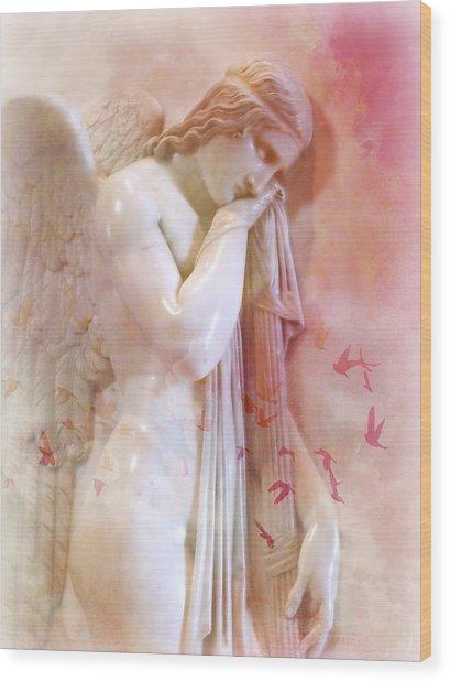 L'angelo Celeste Wood Print
