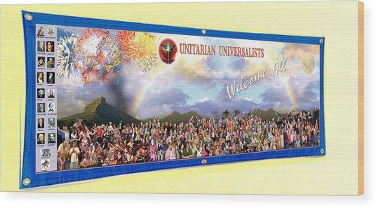 Large Banner 15x4 Wood Print
