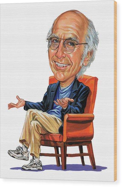 Larry David Wood Print by Art