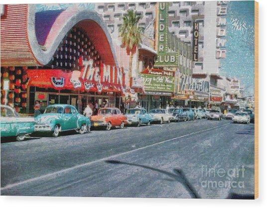 Las Vegas 1959 Wood Print