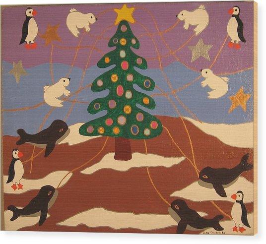 Last Christmas Wood Print