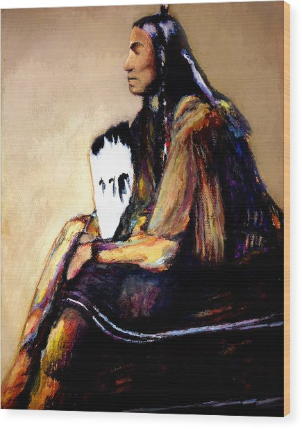 Quanah Parker- The Last Comanche Chief Wood Print