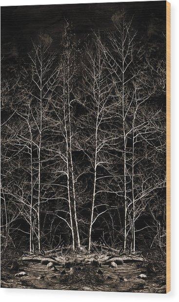 Last Stand Wood Print