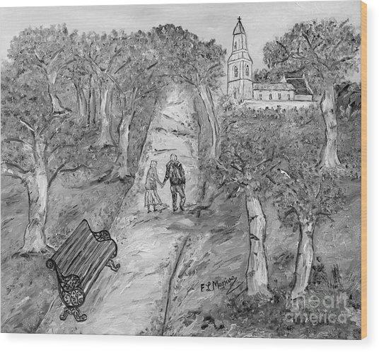 L'autunno Della Vita Wood Print