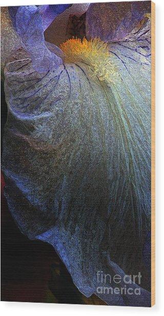 Lavender Lady Wood Print