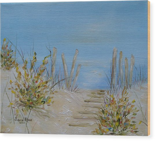 Lbi Peace Wood Print