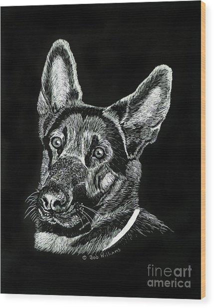 Le Baron Vom Schutzstaffel Wood Print