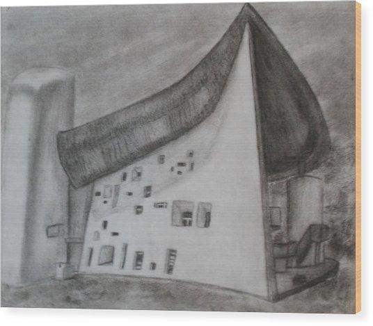 Le Corbusier Wood Print