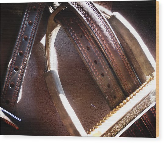Leather And Iron Wood Print