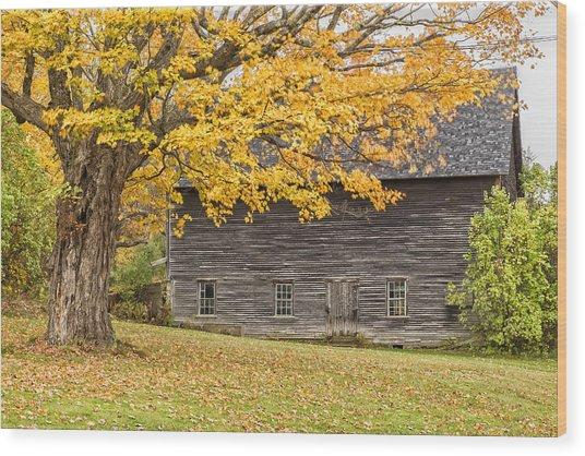 Leavitt's Barn Wood Print