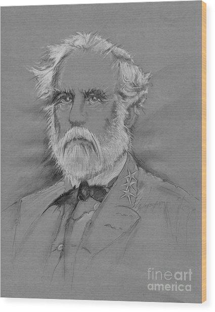 Lee's Battle-blood Up Wood Print