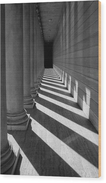 Legion Breezeway Wood Print