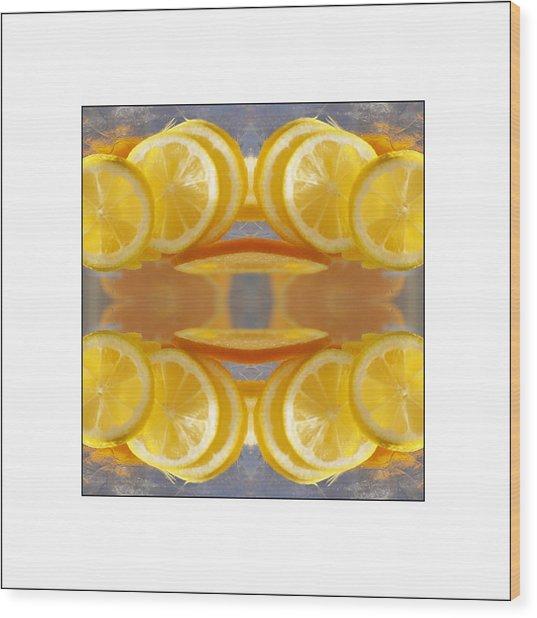 Lemon Drop Wood Print by Don Powers