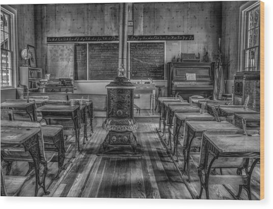 Lesson Plan Wood Print by Ray Congrove