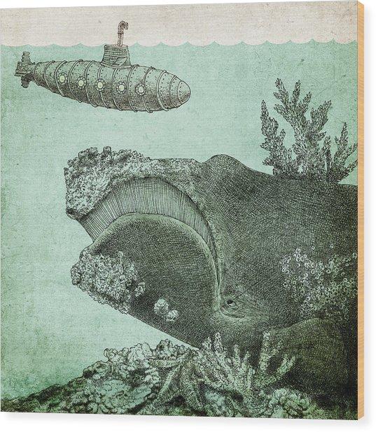 Leviathan Wood Print
