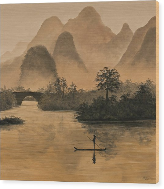Li River China Wood Print