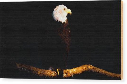 Liberty Wood Print by Philip Zion