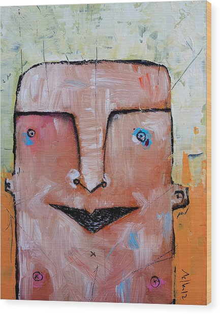 Life As Human No. 37 The Lost Tribe Wood Print by Mark M  Mellon